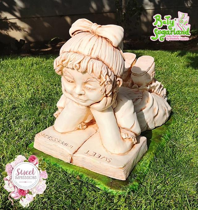 Little Girl's Statue - Sweet Impressions