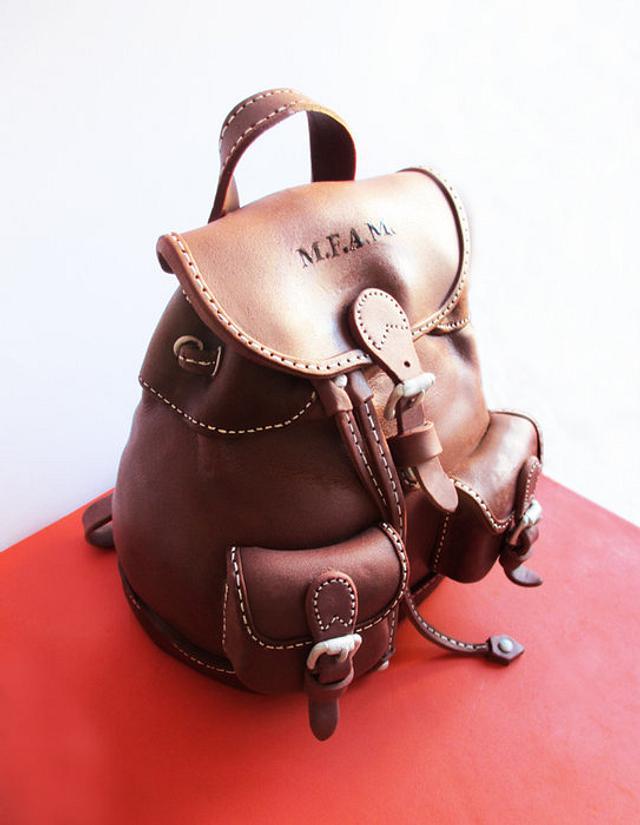 Chocolate bag cake