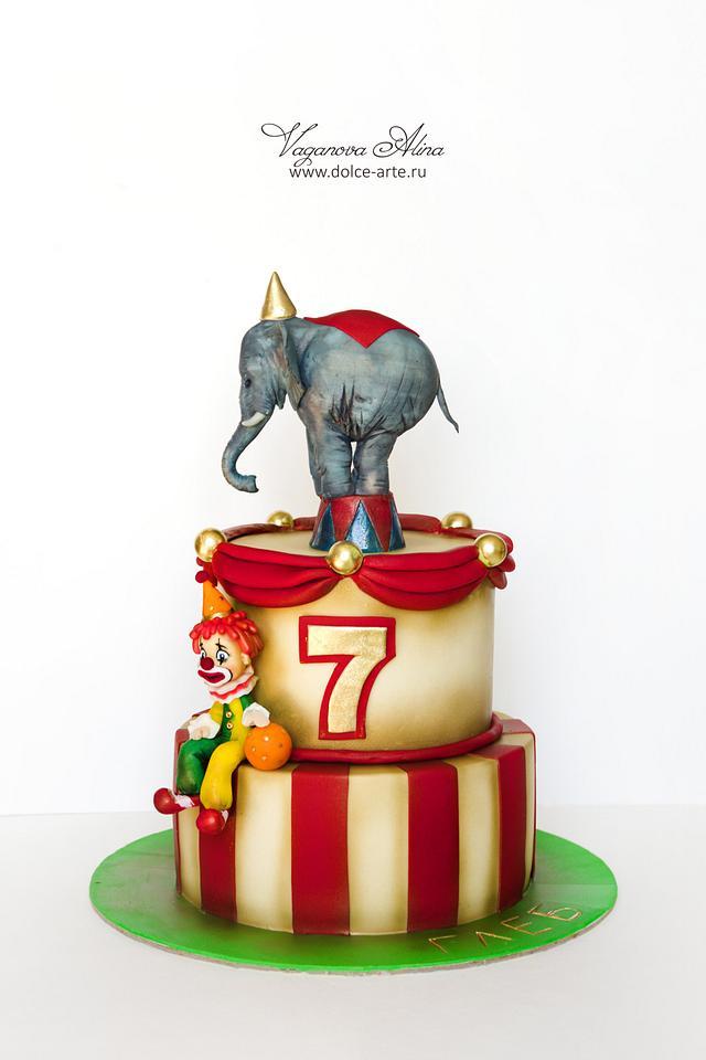 circus cake #2