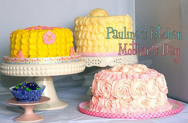 Pauline loves mommies, grannies, and great grannies too!