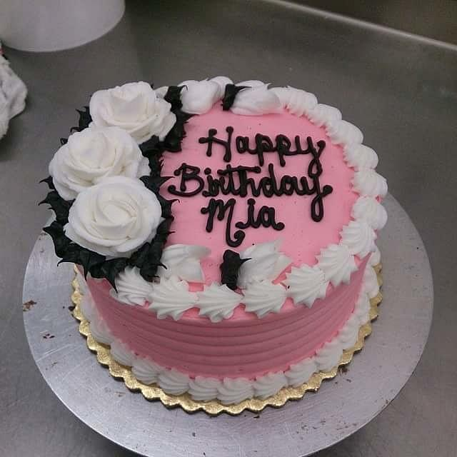 Floral 50's Cake
