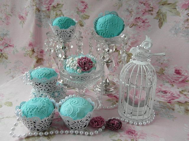 Vintage cupecake's