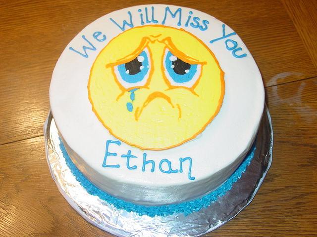Going Away Cake