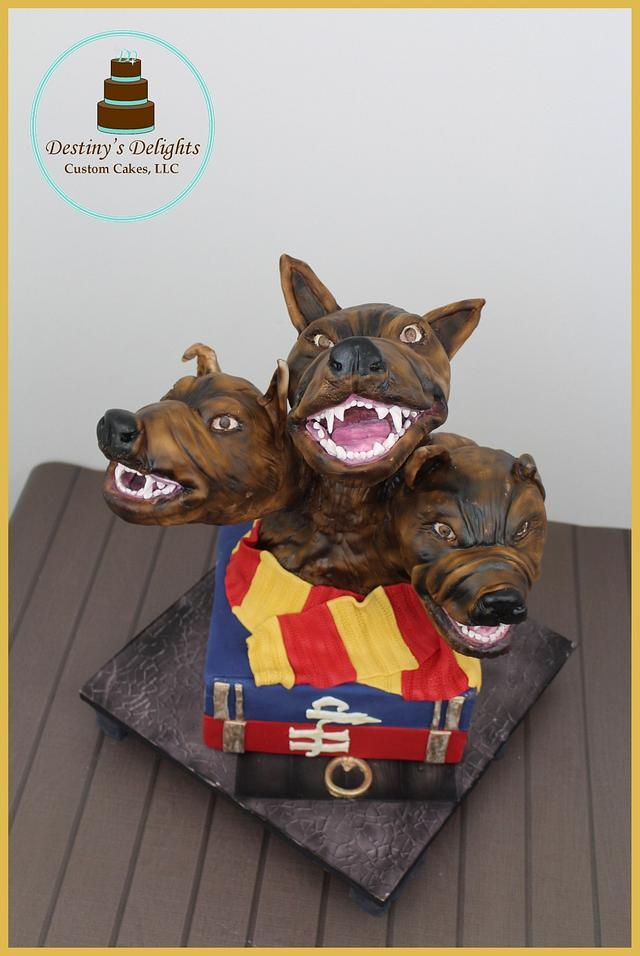 Hogwarts cake challenge - Fluffy