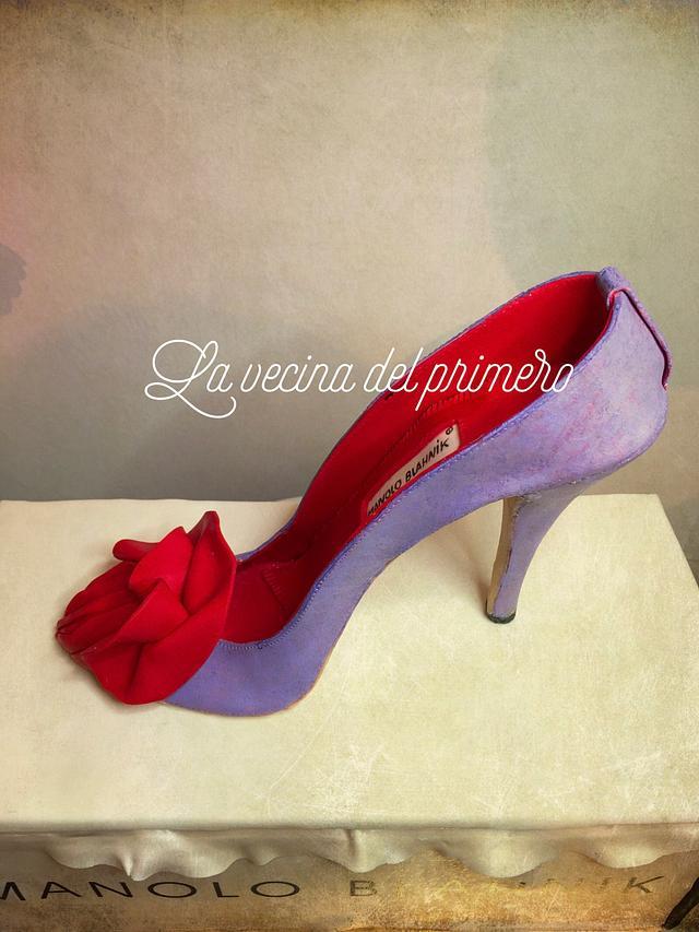 Manolo Blahnik shoe