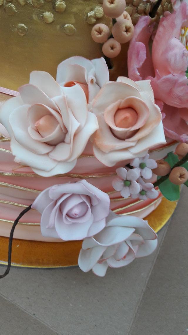 Wedding cake for Love birds!