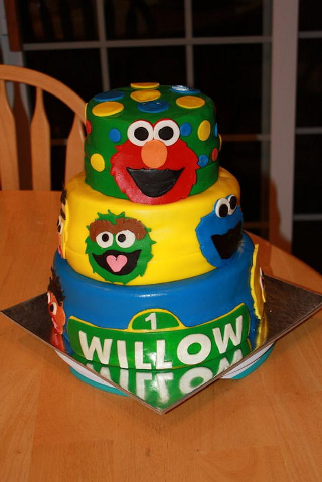 Willow's First Birthday Cake