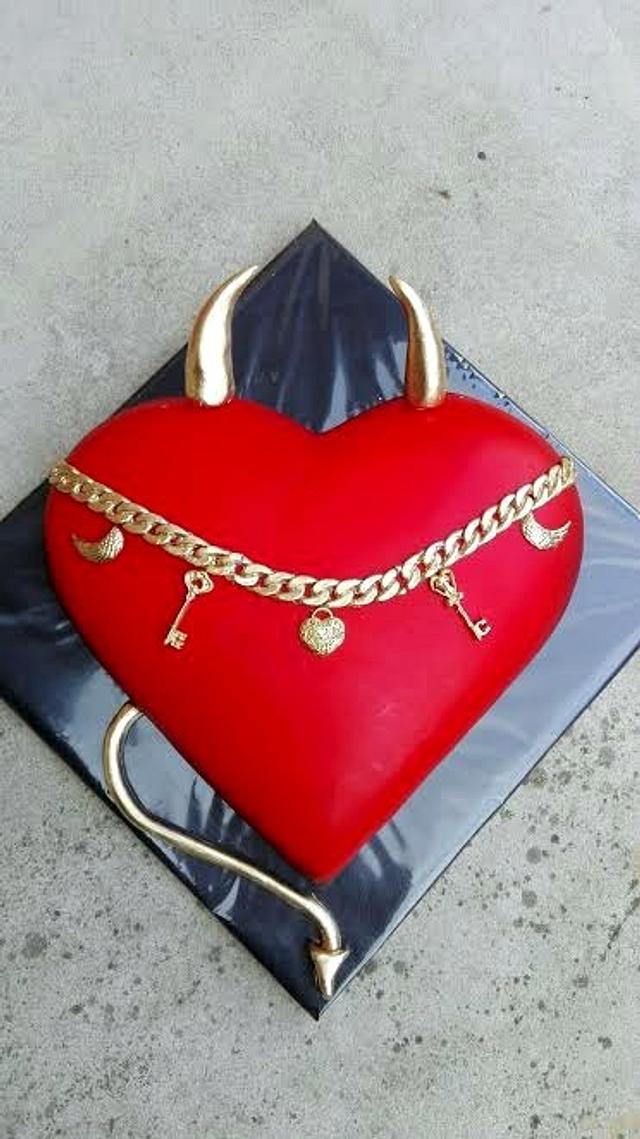 Birthday heart for man