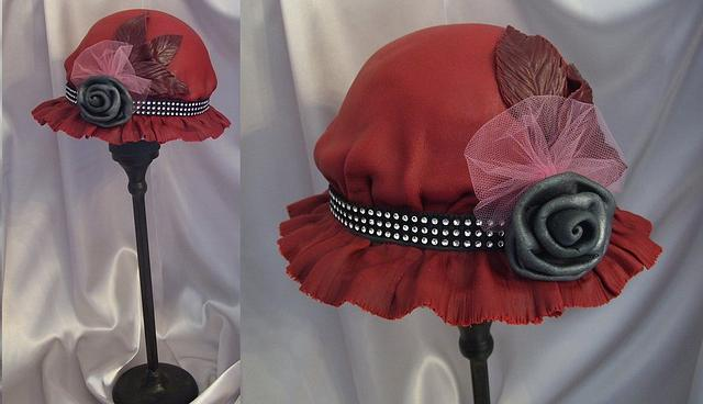 Downton Abbey Period Hat Cake