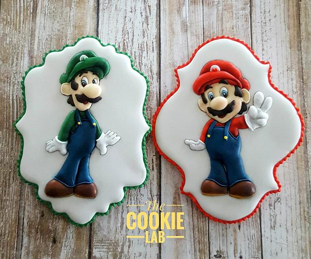 Super Mario Cookies to Little Connor!