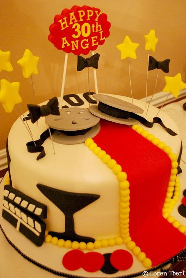 Hollywood / James Bond Cake!