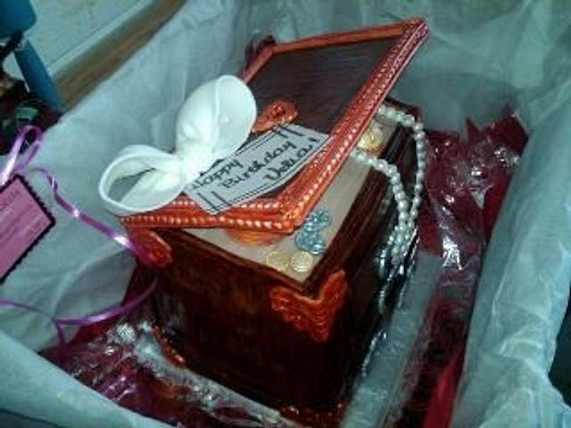 jewlery box cake