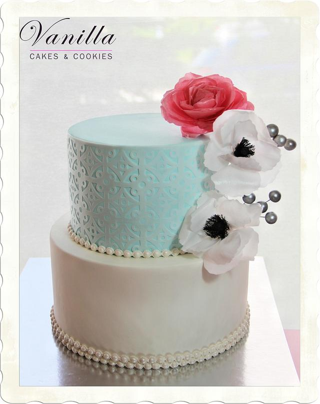 Wafer Paper lace&flowers