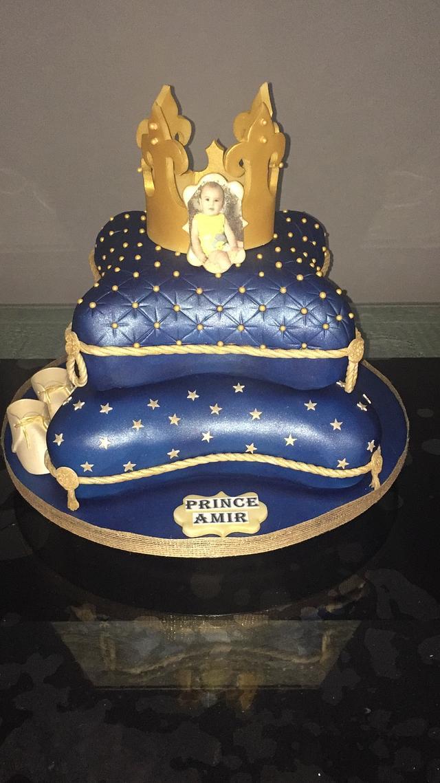 Frist pillow cake