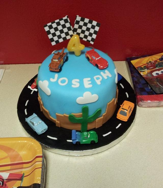 Cars Themed Birthday Party