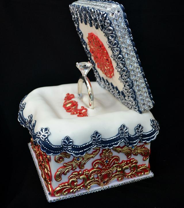 Ring Cake Box Cake