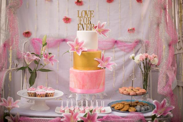 PDCA Caker Buddies Dessert  Counter Collaboration- A Floral Affair