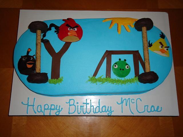 Angry Birds Skateboard