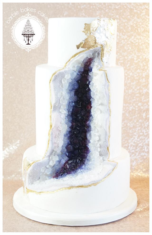 The Geode Cake