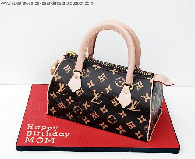 Louis Vuitton Handbag Cake