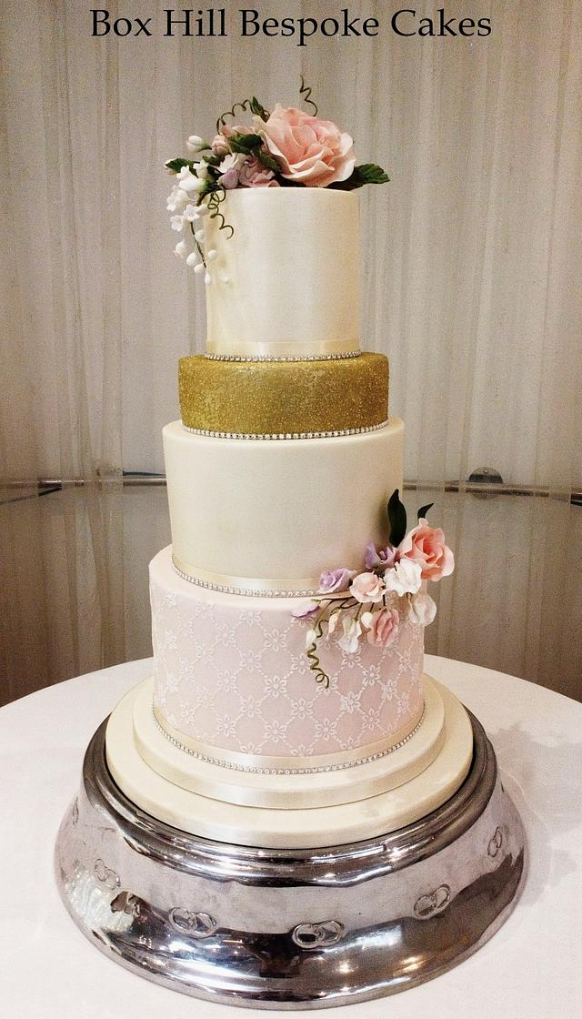 Chloe Wedding Cake.