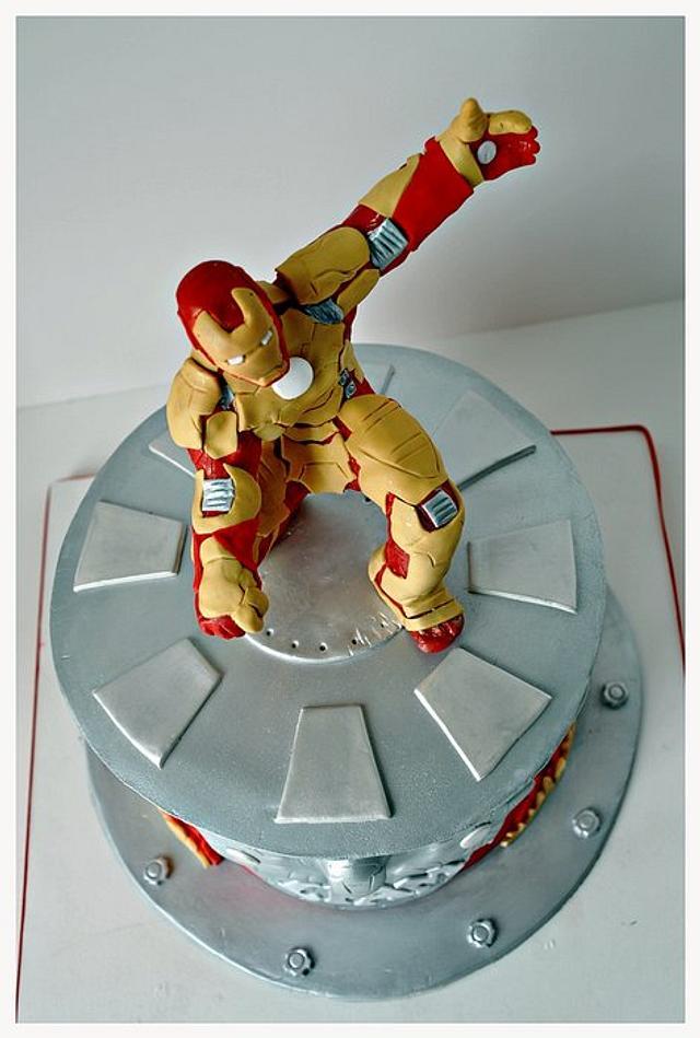 Iron Man 3 Cake