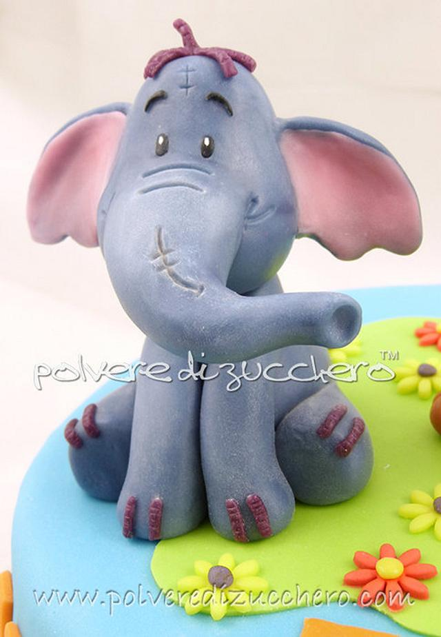 Cake friends of Winnie the Pooh: Roo and Effy