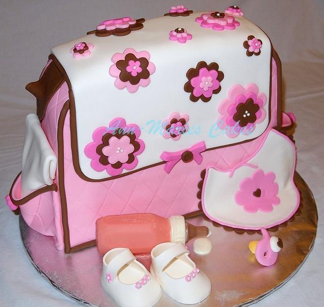 Girlie Diaper bag