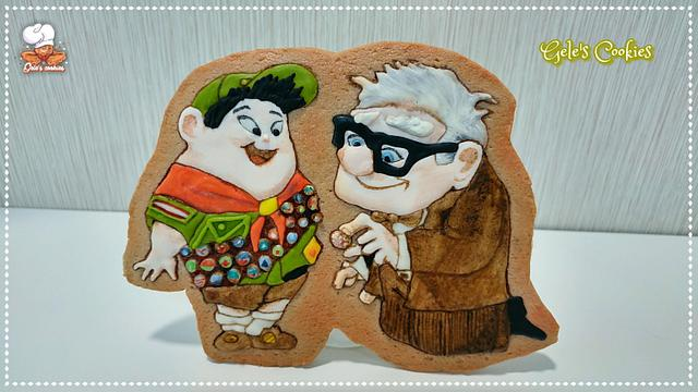 Russell and Mr.Fredricksen - Up