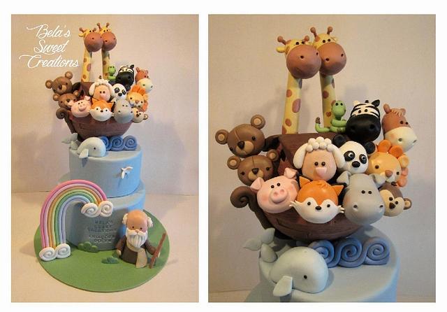 Noah's Ark Cake!