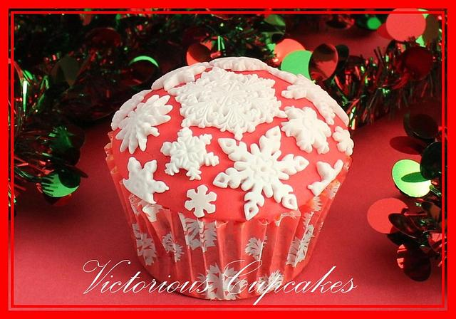 Christmas Cupcakes Part 3