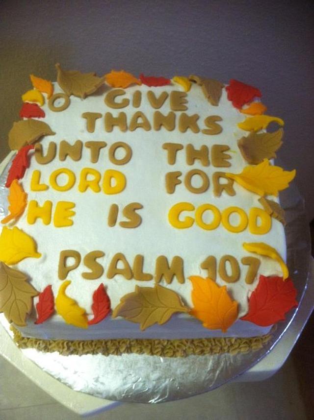 Psalm cake
