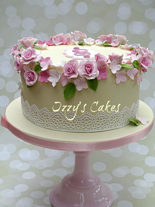 Floral 90th Birthday