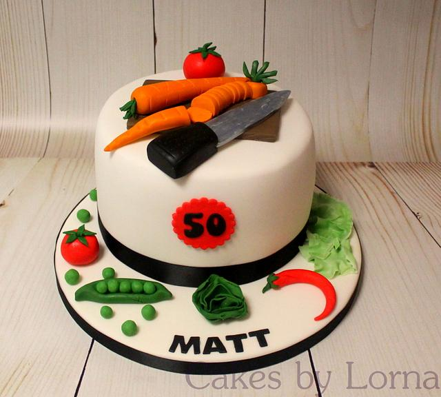 Chef Birthday Cake