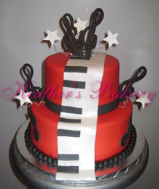 Piano Men Cake