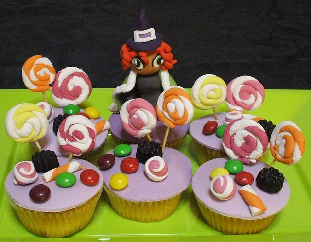 Witch's cupacakes