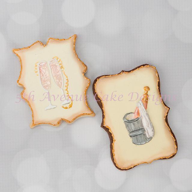 Inspired Pierre Joeüt New Year's Eve Cookies