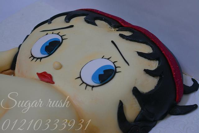 Betty boop cake