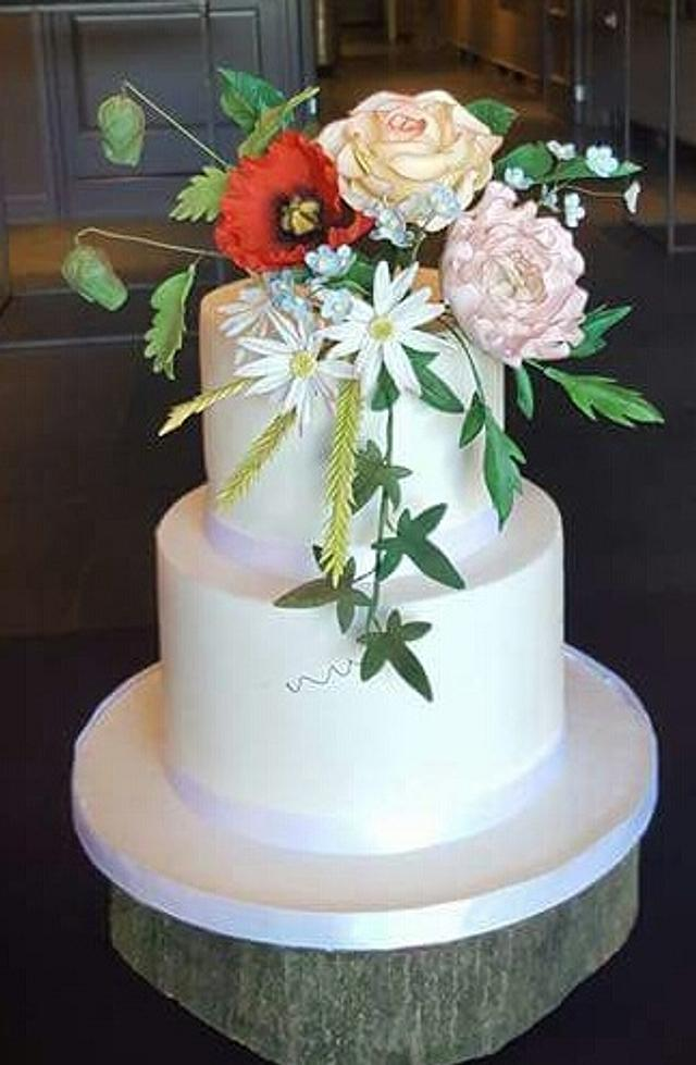 symmerflowercake