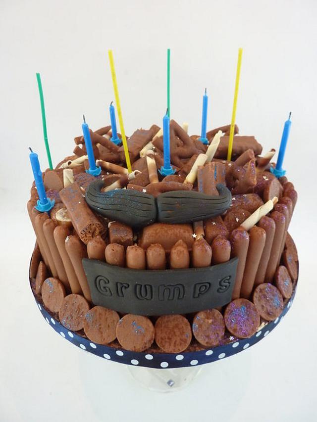 Chocolate cake for Grumps