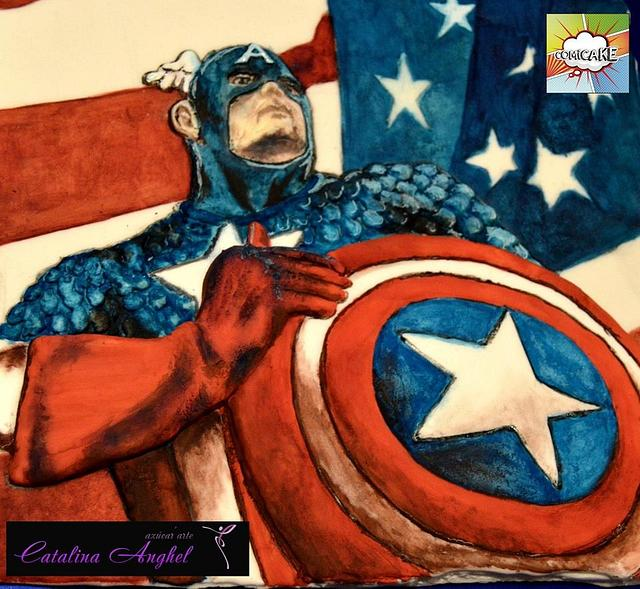 Capitan America- Comicake 2015