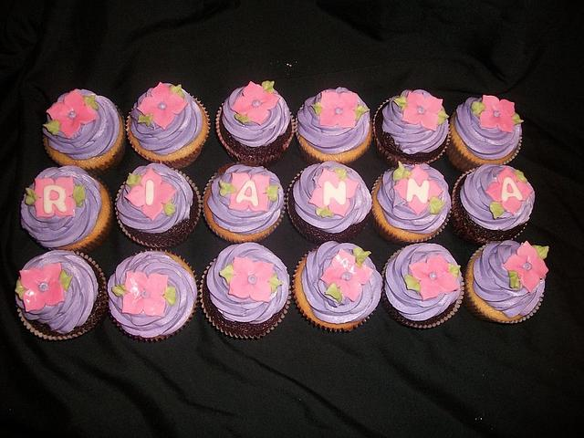 Girlie Birthday Cupcakes