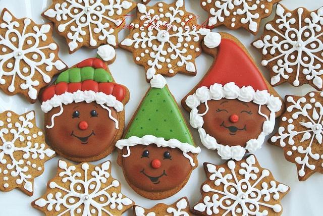 Merry Gingerbread Man Cookies