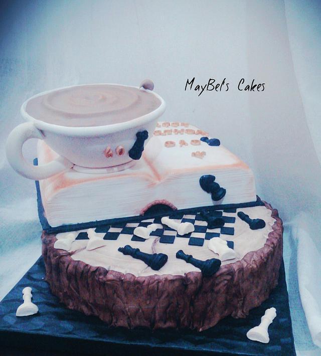 Chesse board cake