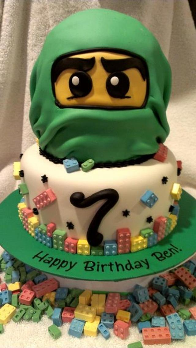 Excellent Ninjago Birthday Cake Cake By Kristi Cakesdecor Funny Birthday Cards Online Alyptdamsfinfo