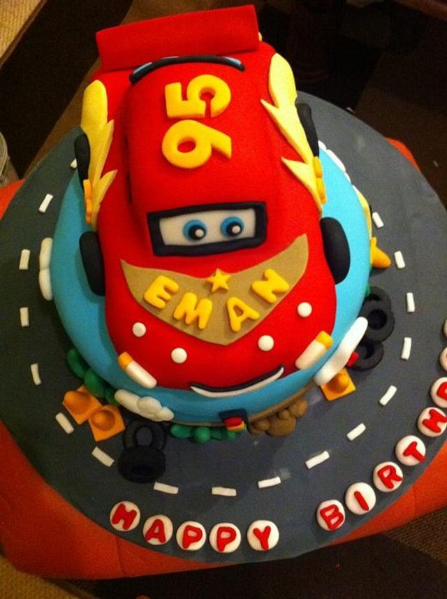 Awe Inspiring Cars Themed 1St Birthday Cake Cake By Ambeverly Cakesdecor Funny Birthday Cards Online Hendilapandamsfinfo