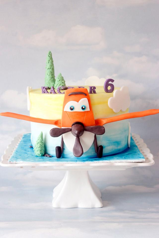Dusty cake