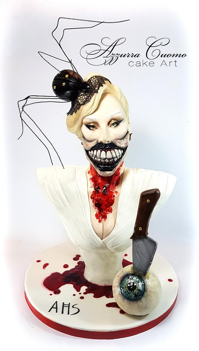 """""""The Countess"""": an AHS cake for Cakeflix Collaboration"""