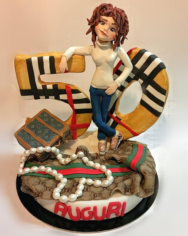 Fashion cake