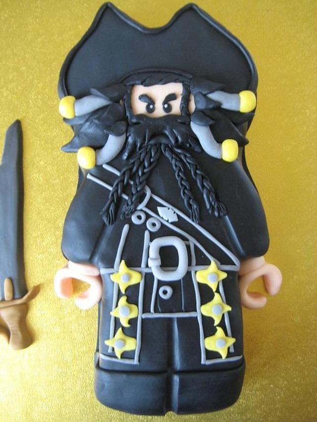 Lego Blackbeard Cake